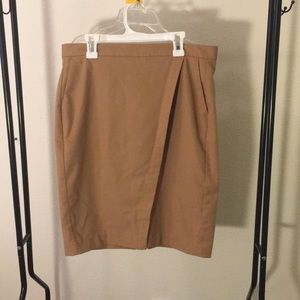 Tan Skirt from Banana Republic